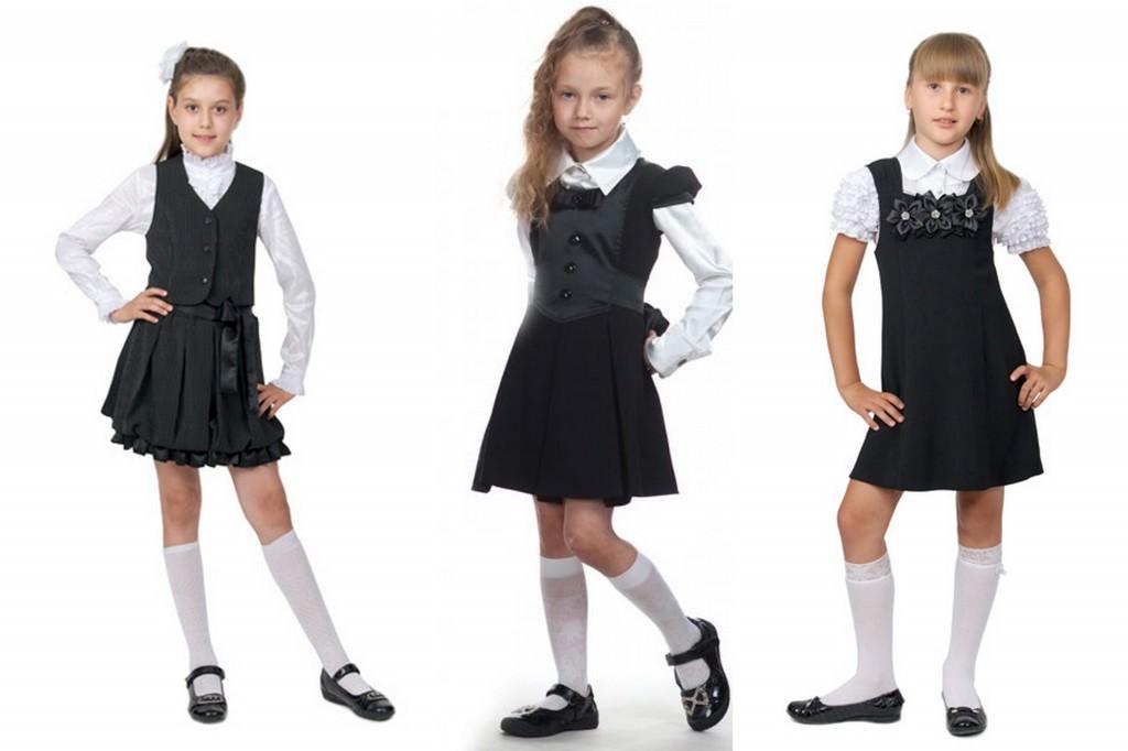 Школьная форма для девочек 2013-2014. Платья и сарафаны Image