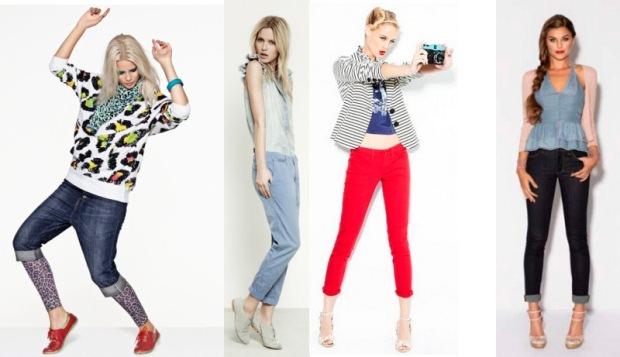 Укороченные брюки: как носить? Image