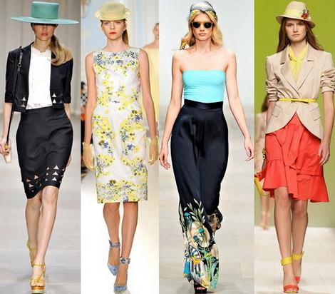 Модные головные уборы весна-лето 2013