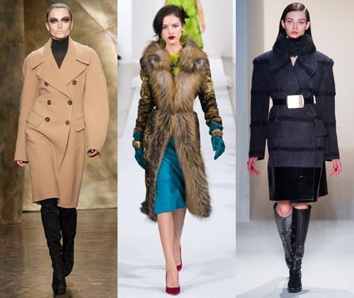Женское пальто: осень-зима 2013