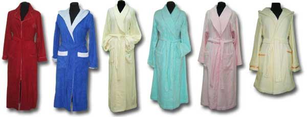 Махровые халаты Image