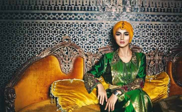 Показ коллекции марокканского кафтана в Москве. SAJA by Samir Jamai Image