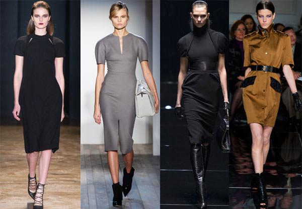 модные платья в офис