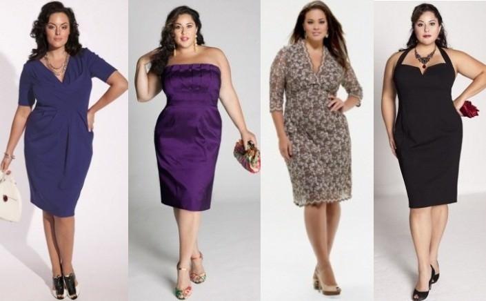 Выбор платья для полной женщины Image