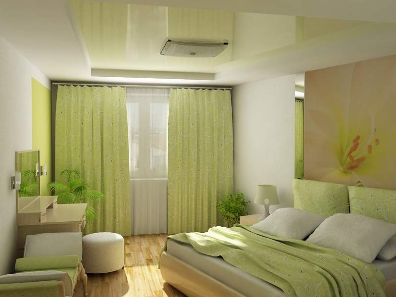 Элегантный интерьер спальни и постельное белье