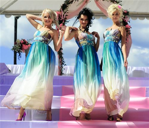 Модные платья для подружек невесты