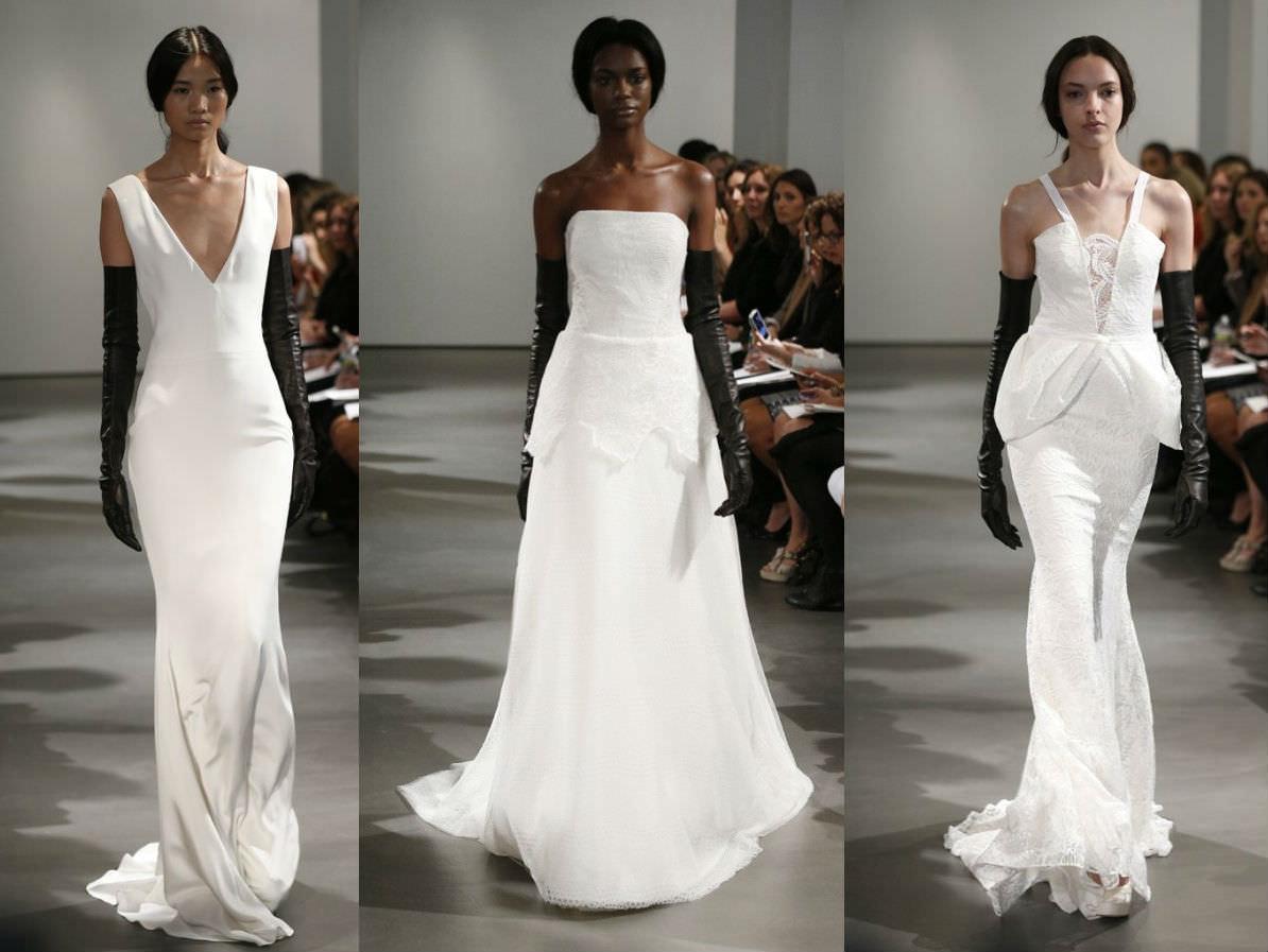 Нью-Йорк: неделя свадебной моды-2014 от Vera Wang Image