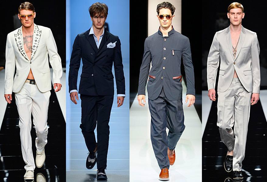 Мужской костюм 2013: сдержанная элегантность