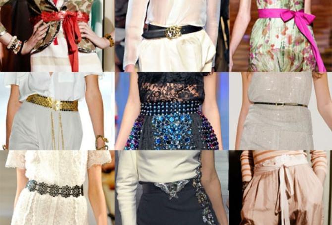Модные ремни. Весна–лето 2013 Image