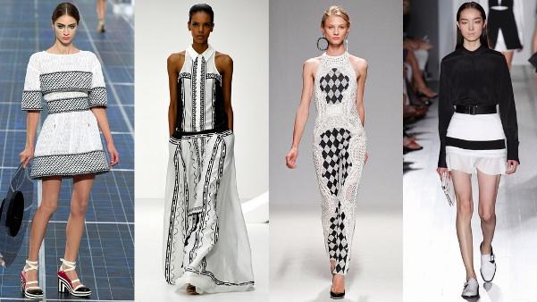 Черно-белый цвет. Тенденции 2013 года Image
