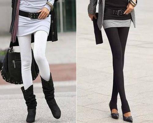 Носить леггинсы — осень зима 2012 2013