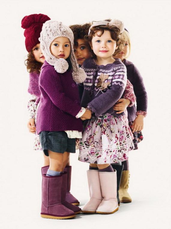 Модные дети сурового климата Image