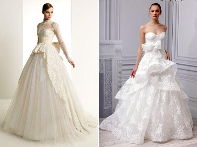Свадебные платья — тенденции 2013 Image