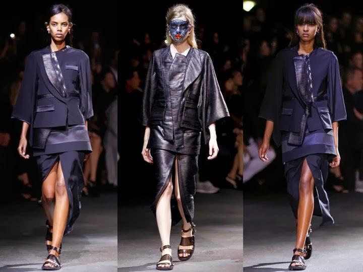 Япония подготавливается к тому, чтобы представить новые модные видения стиля в будущем 2014 году. Image