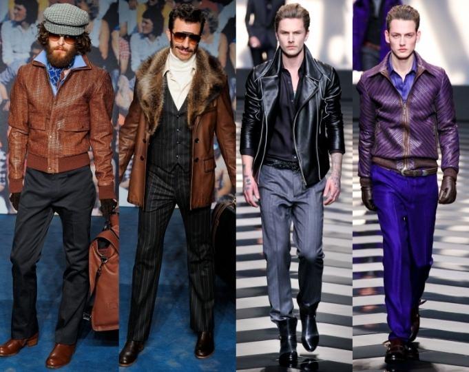 Мужская мода 2013: Кожа Image