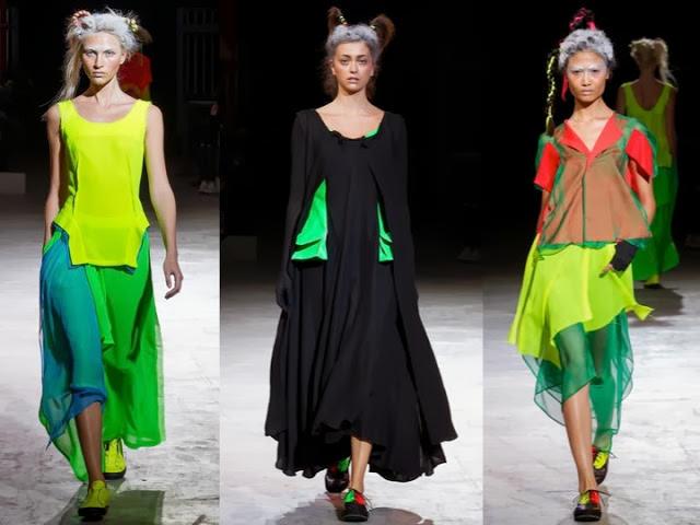 Япония подготавливается к тому, чтобы представить новые модные видения стиля в будущем 2014 году.