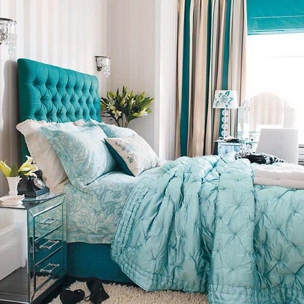 Текстиль в интерьере спальни Image
