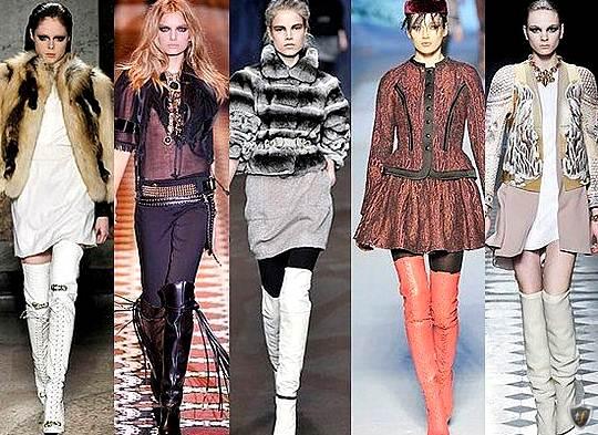 Модные и оригинальные сапоги 2013-2014 Image