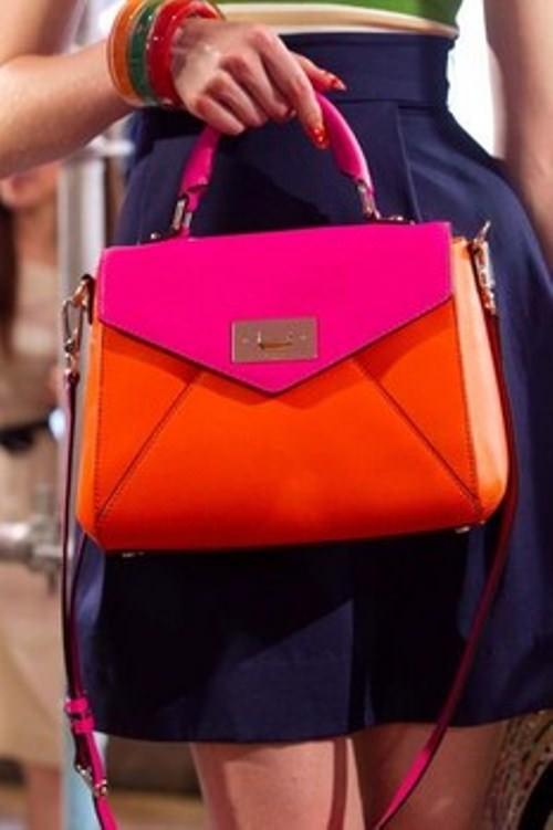 Весна 2013 — сумки с цветовыми блоками! Image