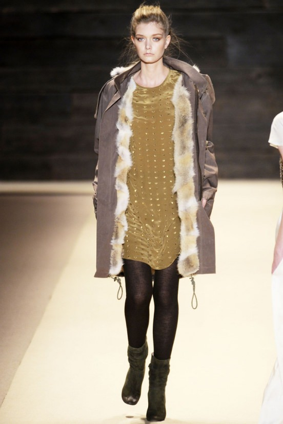 Тенденции моды 2013: Зимняя парка