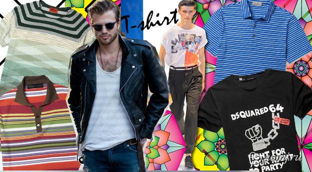 Мужские футболки: что выбрать, где купить Image
