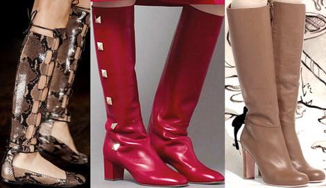 Модные Женские Зимние Ботинки 2014