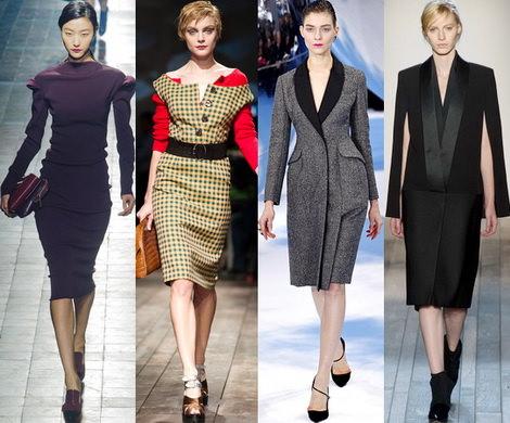 Модные тенденции женской осенней одежды 2013-2014