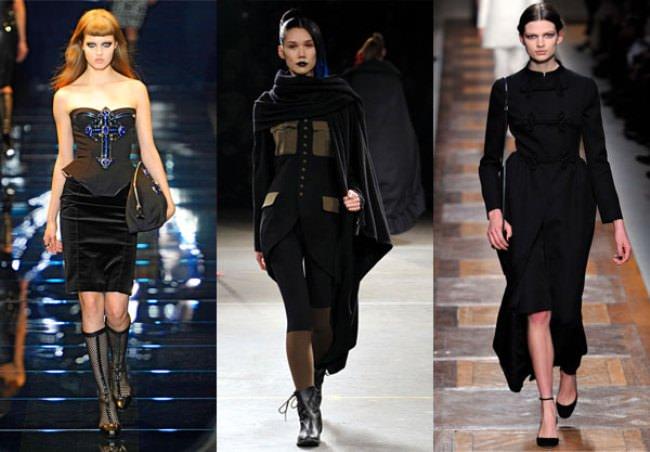 Готический стиль снова в моде. Осень 2012 Image