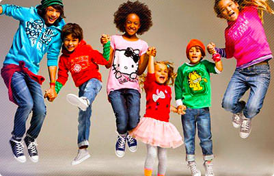 Брендовая одежда для детей Image