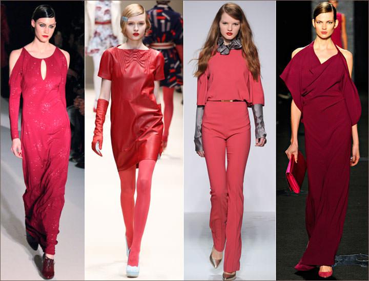 Модные цвета в осеннем гардеробе