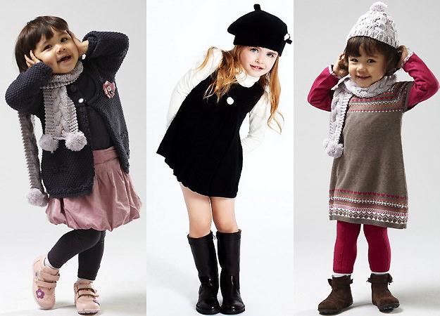Дети, одетые по последнему слову моды
