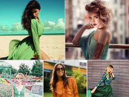зеленый цвет - тренд этого лета 2015
