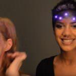 Хай Тек макияж на хэллоуин