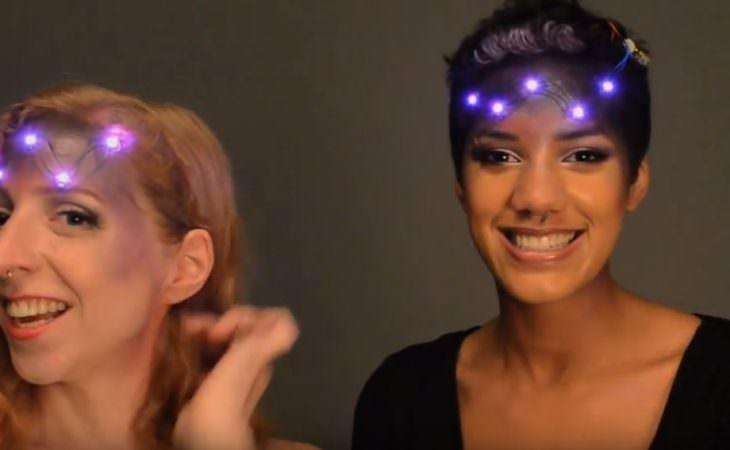 Хай Тек макияж на хэллоуин Image
