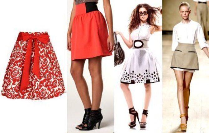 Модные тенденции 2013: юбка-колокол