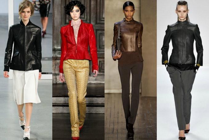 С чем носить кожаную куртку? Image