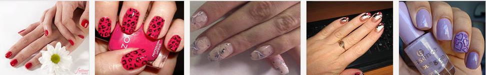 Дизайн коротких ногтей Image