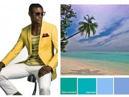 яркий образ мужчины аля Майами Бич