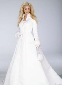 Образ невесты на свадьбе зимой Image