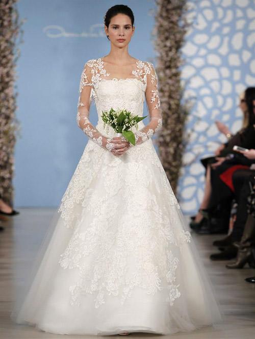 Тенденции свадебной моды 2014