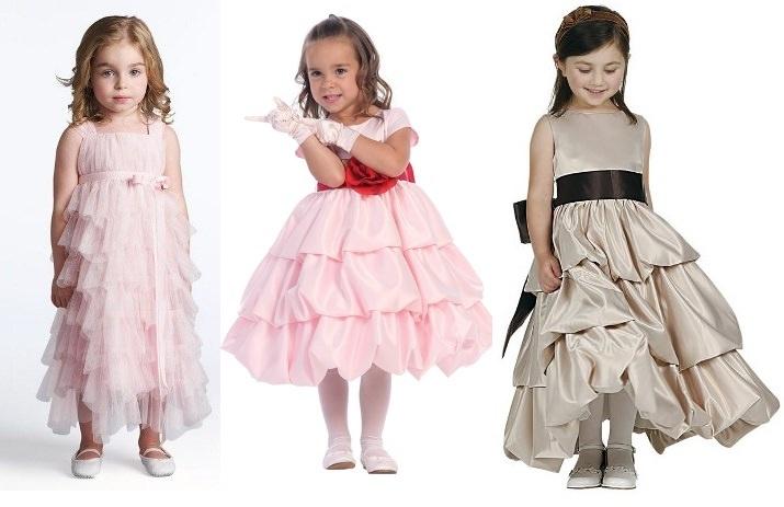 Все о праздничных платьях для девочек