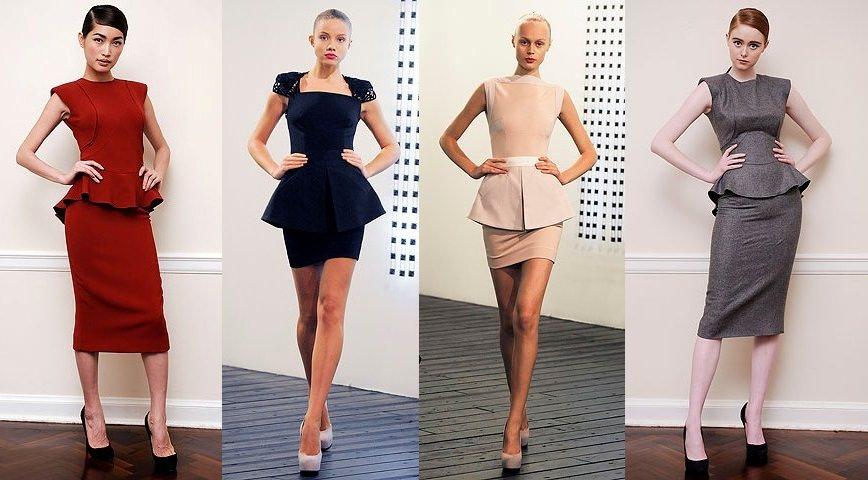 Модные платья весна-лето 2014 Image