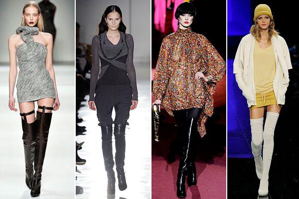 Модные женские сапоги Осень Зима 2013-2014 Image