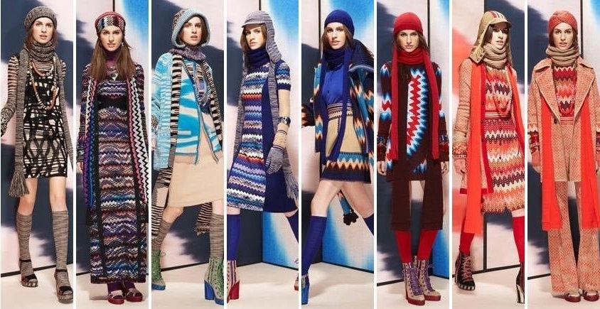 шарфы и шапки 2014