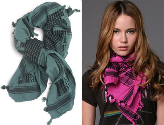 Как повязать шарф Image