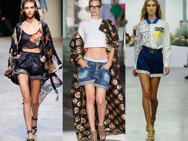 Модные женские шорты — лето 2016 года Image