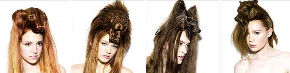 Скульптуры из волос от Наги Нода Image