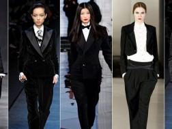Мода 2015 – женский смокинг