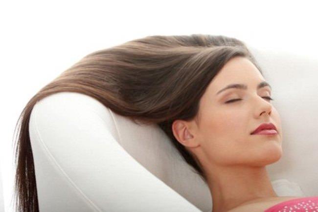 Теплое масло для волос